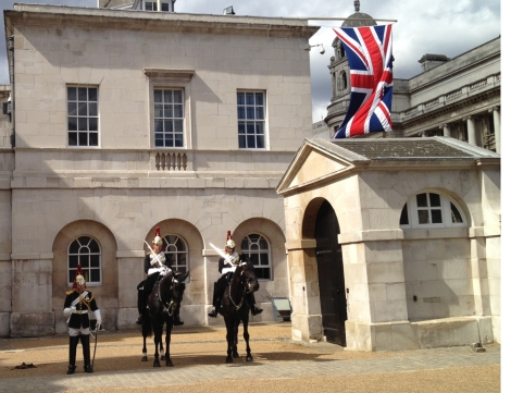British Empire Queen's household Calvary in London June 2012 by Eva The Dragon