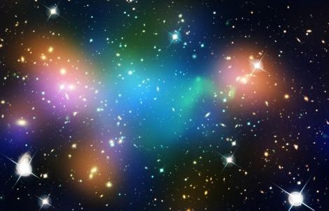 NASA cluster rainbow no title