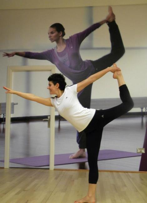 Nat on the Mat at Fitness First Bahrain ashtanga yoga