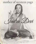 Indra Devi, first, foreign female student