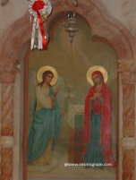 Mary Magdalene and Jesus Orthodox Church Palestine by CosmicGrape