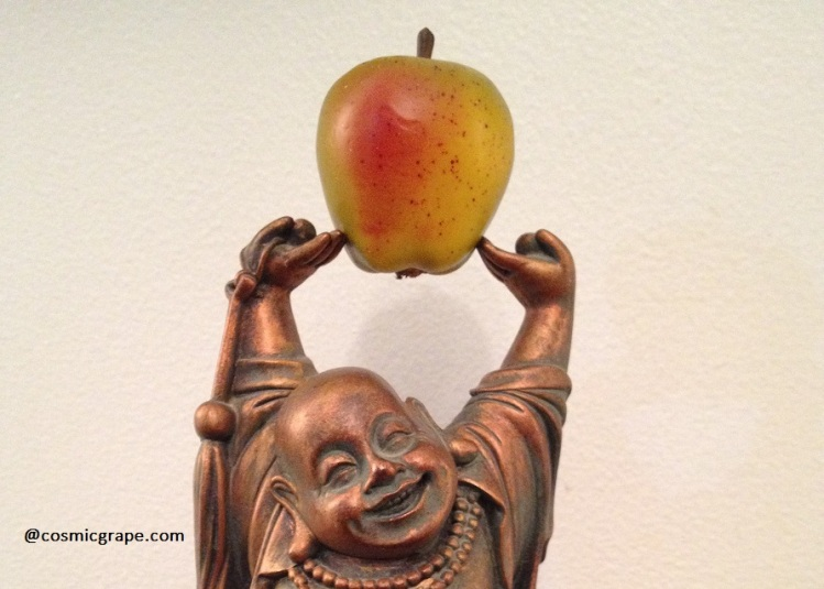 The Yoga of Food Buddha by the Cosmic Grape