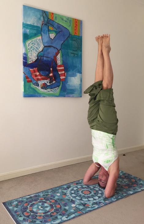 magic carpet headstand (c)cosmicgrape